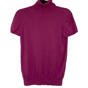GAP Pink SS Turtleneck Sweater M/L